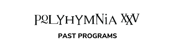 Polyhymnia Past Programs